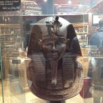 Pharoh made out of chocolate