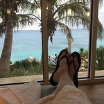 View from the Spa lounge