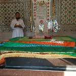 The grave of the Saint Syed Hussain Shah Bukhari