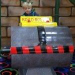 a steamroller