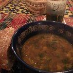 Harira soup was excellent!