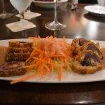 Crsipy Crab Stuffed Ahi Roll