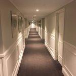 Miramare Gardens hotel corridor