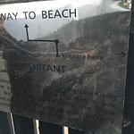 Directions to beach