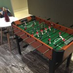 Lobby room - game table