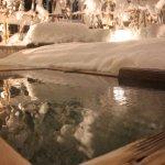 冬限定の雪見露天風呂(大浴場)