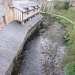 Fast Flowing River & Old Mills