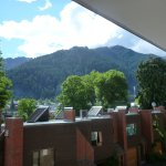 View from our Level 2 unit, looking towards centre of Queenstown