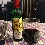 Sula wine! You can't get nice wine - small bottle over dinner from other Resturant  easily in In