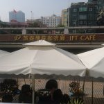 The IFT Cafe at Nam Van lake