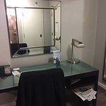 King room, incredibly small bathroom!