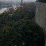 Northern end of ZhongShanMen Park and YueYa Lake from ZhongShan Gate.