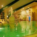 Das hoteleigene Thermalbad kann man kostenlos nutzen