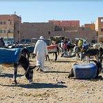 souk, parcheggio per gli asini