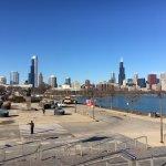 View towards Chicago skyline... amazing
