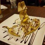 Banana Boat Dessert