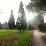 Looking towards the hotel and Ickworth house