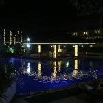Beautiful pool with swim up bar