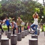 Parque Kenedy ubicado enel corazon de Miraflores a 12cuadras de nuestro Hotel -10 minutos camina