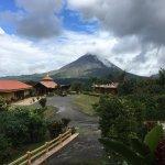 Endroit tranquille et confortable, vue magnifique sur le volcan et lac Arenal