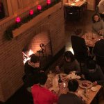 A cold winter dinner at Cloudland Farm