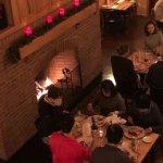 A cold winter dinner at Cloudland Farm