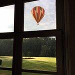 Hot air balloon available