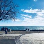 People enjoying the sun