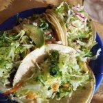Tacos: shrimp,  fish,  carne asada, el carbon