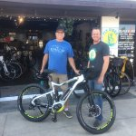 We sell and service electric bikes too! Pick up locally or we'll ship one to you at no extra cha