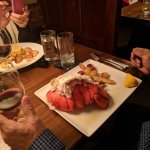 LOBSTER TAIL with PARMESAN ROASTED YUKON GOLD POTATOES -