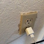Outlets didn't hold a charger and the wifi was nonexistent.