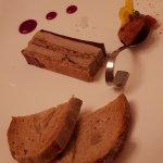 Opéra de foie gras au café ...
