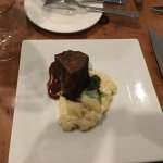 Braised Angus short-rib, creamy risotto