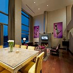 Duplex Penthouse Suite Living Room