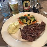 Delicious steak and potatoes (and veggies!)