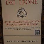 Foto van La Trattoria del Leone