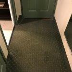 Dirty carpeting