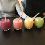 Superb range of smoothies