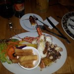 Best Seafood Restaurant - lobster, octopus, shrimp and yucca fries!