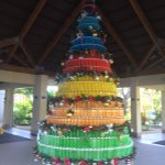 Unique Christmas tree to greet you in season in the lobby