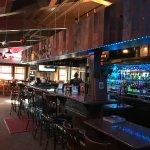 Restaurant bar view