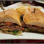 Excellent prime rib sandwich.