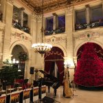The Breakers Ballroom at Christmastime