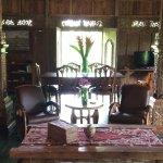 Villa Melah living area