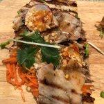 Mr Asia Toastie - Pork, Radish, Coriander, Peanuts, Chilli