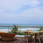 Cool place for enjoy sunshine and sunset in kuta beach
