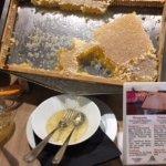 巣蜜も非常に美味しいです