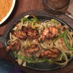 Our Shrimp Fajitas are talked about, try them!!