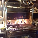 Wood Flame Grill